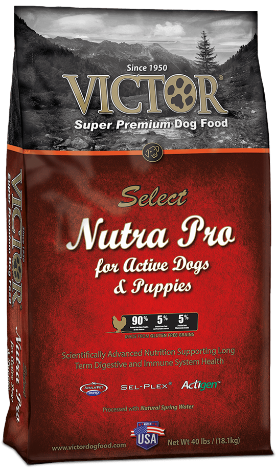 Victor Nutra Pro Dry Dog And Puppy Food